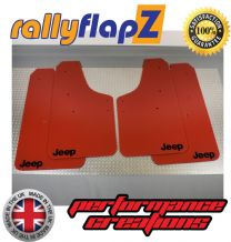 RENEGADE (2015+) RED MUDFLAPS LOGO BLACK
